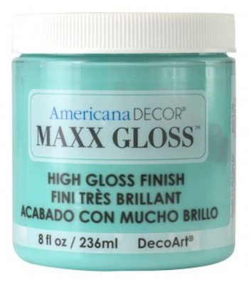 Americana Décor Maxx Gloss - Aqua Waters 8oz