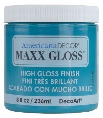 Americana Décor Maxx Gloss - Caribbean Sea 8oz