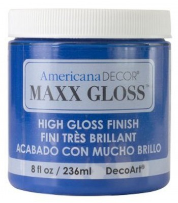 Americana Décor Maxx Gloss - Blue Crystal 8oz