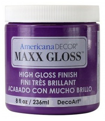 Americana Décor Maxx Gloss - Purple Polish 8oz