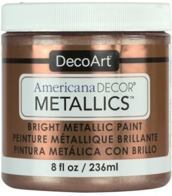 DecoArt Americana Decor Rose Gold Metallics Craft Paints. 8oz