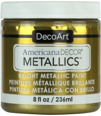 DecoArt Americana Decor Vintage Brass Metallics Craft Paints. 8oz