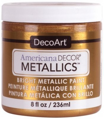 DecoArt Americana Decor Bronze Metallics Craft Paints. 8oz