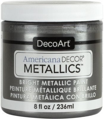 DecoArt Americana Decor Tin Metallics Craft Paints. 8oz