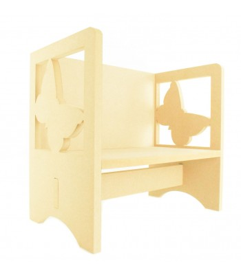 Routered 18mm MDF Quality Flat packed Butterfly Novelty Chair