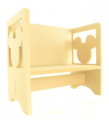 Routered 18mm MDF Quality Flat packed Mouse Novelty Chair