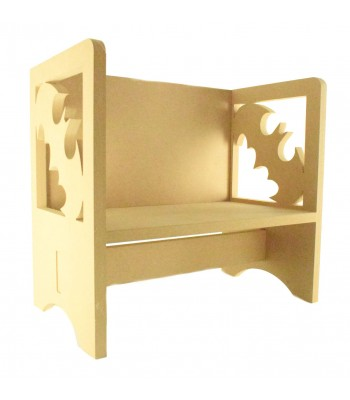 Routered 18mm MDF Quality Flat packed Batman Novelty Chair