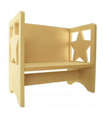 Routered 18mm MDF Quality Flat packed Star Novelty Chair
