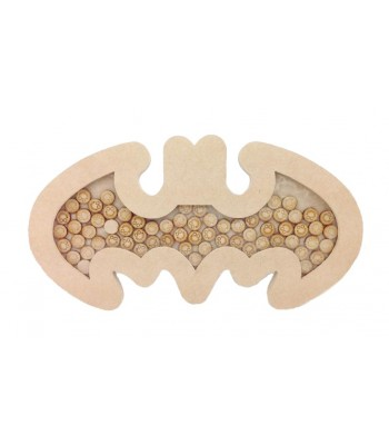 Freestanding MDF Batman Logo Childrens Reward Chart Drop Box - Face Tokens