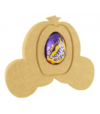18mm Freestanding Easter CREME EGG Holder - Princess Carriage
