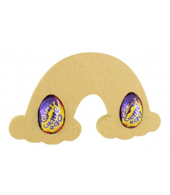 18mm Freestanding Easter CREME EGG Holder - Rainbow