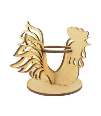 Laser Cut 3D Chicken Egg Holder