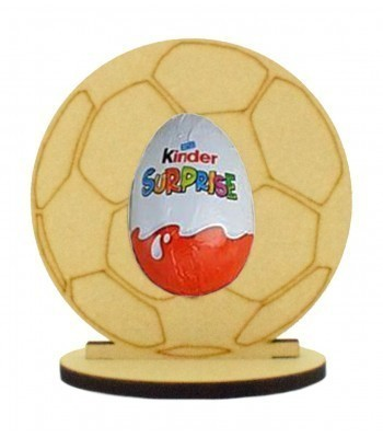 6mm Football Kinder Egg Holder on a Oval Stand