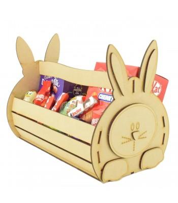 Laser Cut 3mm 3D Easter Bunny Basket