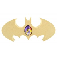 18mm Freestanding Batman Logo CREME EGG Holder