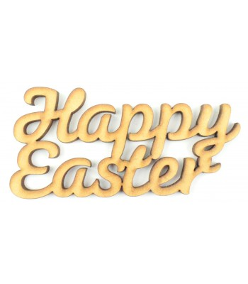 Laser Cut 'Happy Easter' Sign - Sizes Avaialble