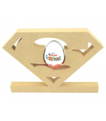 18mm Freestanding Superman Logo KINDER EGG Holder