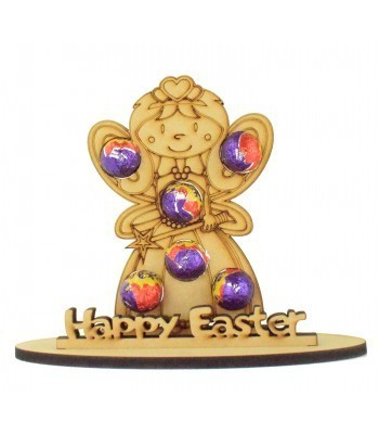 6mm Fairy Shape Mini Creme Egg Holder on a Stand - Stand Options