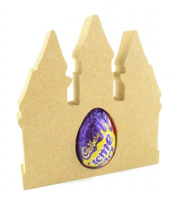 18mm Freestanding Princess Castle CREME EGG Holder