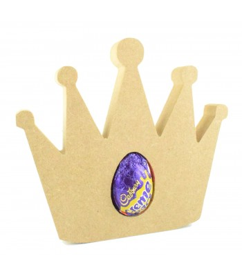 18mm Freestanding Princess Crown CREME EGG Holder