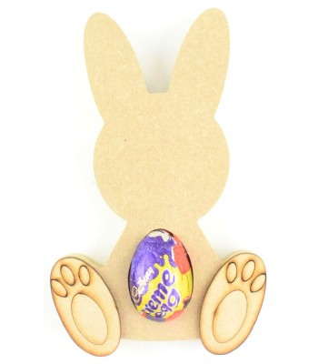 18mm Freestanding Easter Rabbit KINDER or CREME EGG Holder with 3D FEET
