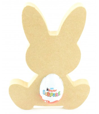18mm Freestanding Easter Rabbit KINDER EGG Holder (Design 4)