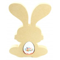 18mm Freestanding Easter Rabbit KINDER EGG Holder (Design 5)