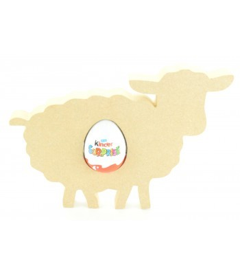 18mm Freestanding Easter Sheep/Lamb KINDER EGG Holder