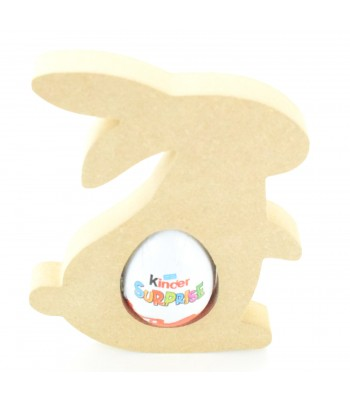 18mm Freestanding Easter Rabbit KINDER EGG Holder (Design 1)
