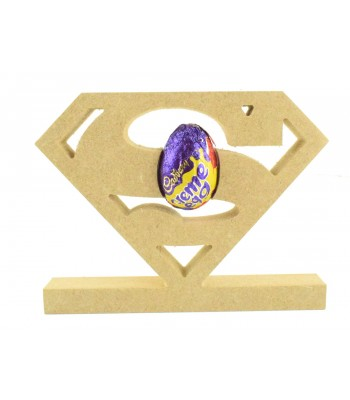 18mm Freestanding Superman Logo CREME EGG Holder