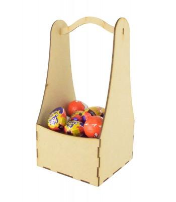 Laser Cut Plain Easter Basket