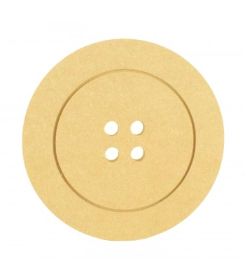 18mm MDF Button Shape with Engraved Detail