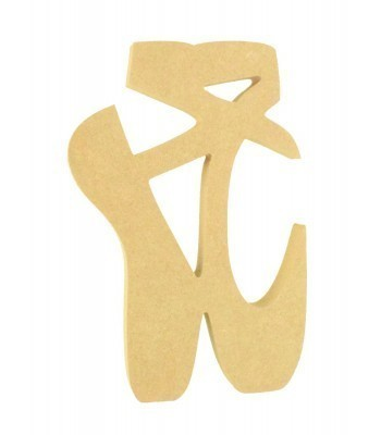 18mm Freestanding MDF Ballet Shoes