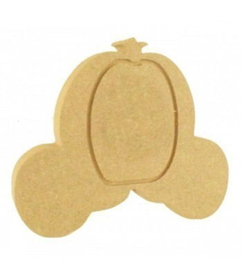 18mm Freestanding MDF Princess Carriage Shape