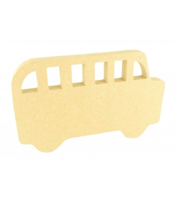 18mm Freestanding MDF School Bus Shape