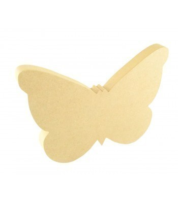 18mm Freestanding MDF Butterfly Shape
