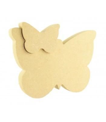 18mm Freestanding MDF Butterfly in Butterfly