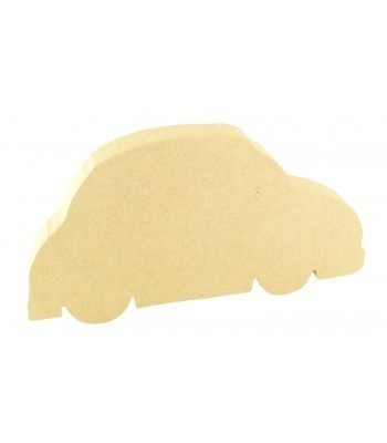 18mm Freestanding MDF Car Shape