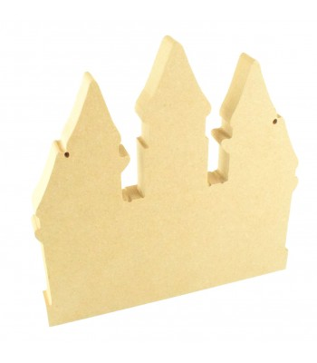 18mm Freestanding MDF Princess Castle Shape