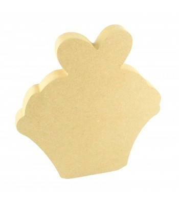 18mm Freestanding MDF Cupcake Shape