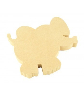 18mm MDF Elephant Shape