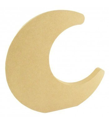18mm Freestanding MDF Chunky Moon Shape