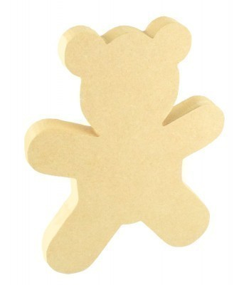 18mm Freestanding MDF Teddy Shape