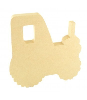 18mm Freestanding MDF Tractor Shape
