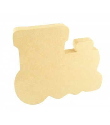 18mm Freestanding MDF Train Shape