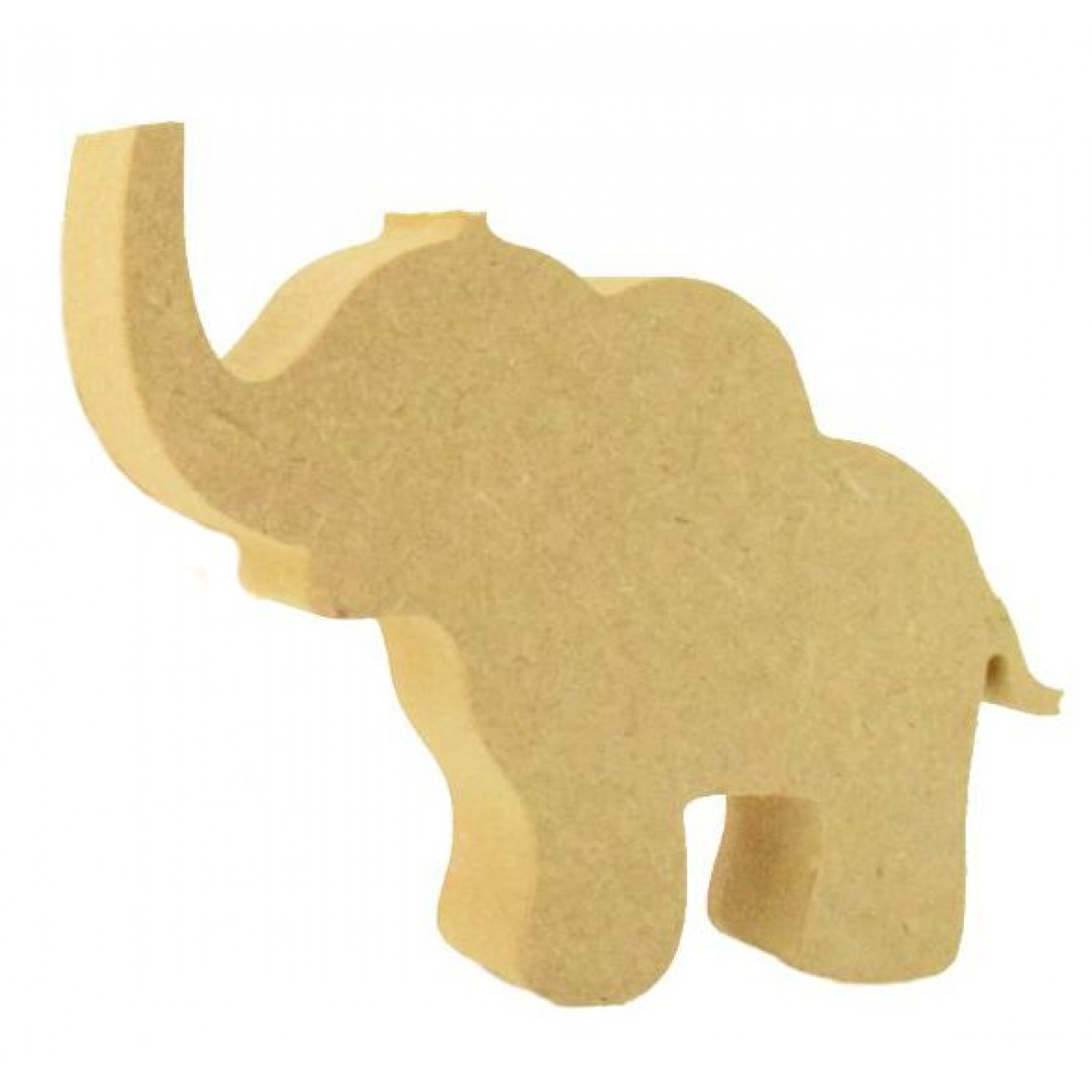Elephant freestanding  150mm Craft Blank 18mm MDF