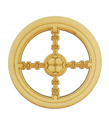 Laser Cut Mini Dream Catcher Frame with Gaming Shape Inside
