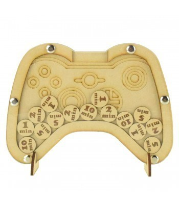 Laser Cut X-Box Controller Childrens Budget Reward Chart Drop Box - Token Options