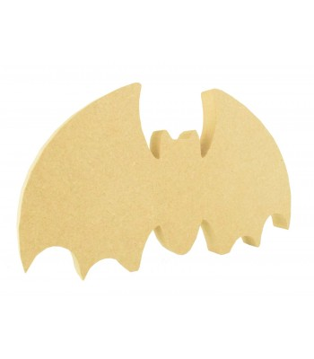 18mm Freestanding MDF Halloween Bat Shape