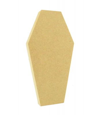 18mm Freestanding MDF Halloween Coffin Shape